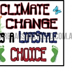 Climate Change Lifestyle Choice
