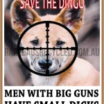 Men Big Guns Dingo