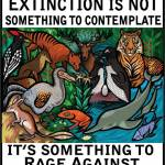 Extinction rage against