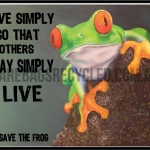 Frog Live Simply