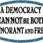 Democracy Ignorance Free