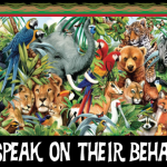 animals speak on their behalf