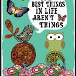 Best Things aren't Things owl
