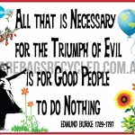 Good People do Nothing