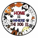 Home is where dog