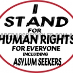 I stand Human Rights