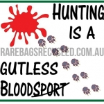 Hunting Gutless Bloodsport