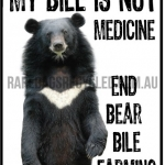Moon Bear End Bile Farming