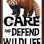 Care and Defend Red Panda
