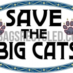 Save the Big Cats Oval