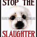 Stop the Slaughter Harp Seal