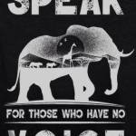 Speak elephant voice