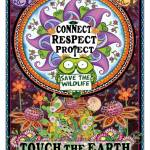 Connect Touch Earth Rectangle