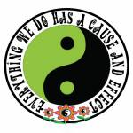 Cause and Effect Green Yin Yang