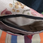 Good Quality Chunky Zip (30cm) across main compartment.