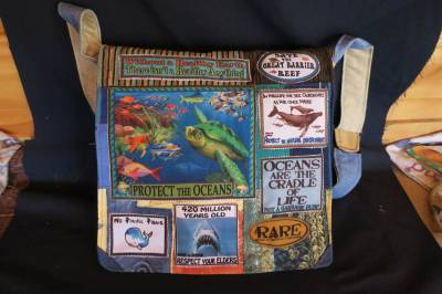 Protect the Oceans bag