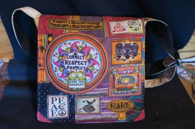Connect Respect Protect bag