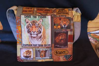 Tiger/big cat bag