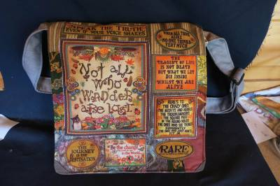 Not all who Wander are Lost bag