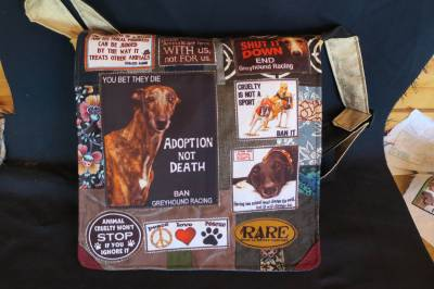 Save the Greyhound bag